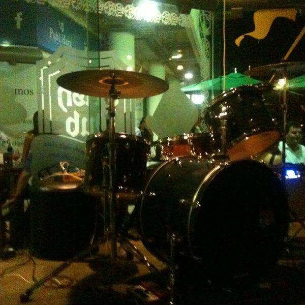 Photo taken at Dublin's Irish Pub by Pancho D. on 5/4/2013
