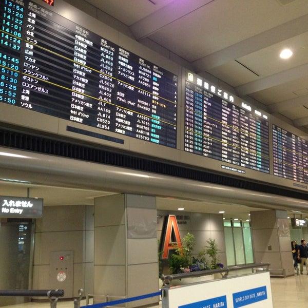 Photo taken at Narita International Airport (NRT) by Vj M. on 6/29/2013