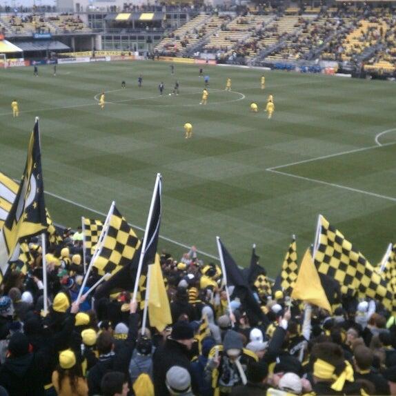 Photo taken at MAPFRE Stadium by Jason P. on 3/16/2013