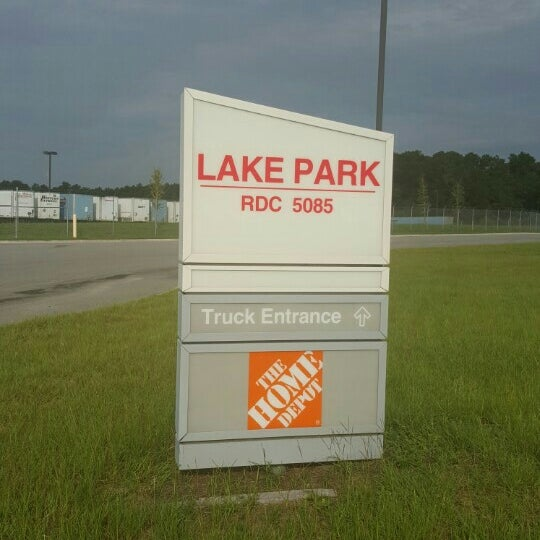 Photo Taken At Home Depot RDC Lake Park Ga By Master On 7 20