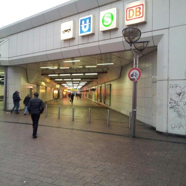 Photo taken at Duisburg Hauptbahnhof by Sven W. on 2/25/2013