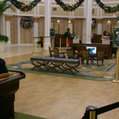 Photo taken at Disney's Port Orleans Riverside Resort by かめたん on 12/2/2012