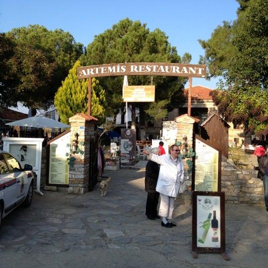 11/26/2012 tarihinde Serkan T.ziyaretçi tarafından Şirince Artemis Şarap ve Yöresel Tadlar Evi'de çekilen fotoğraf