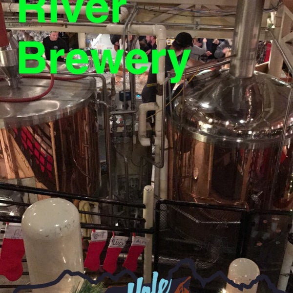 Photo taken at Snake River Brewery & Restaurant by Caitlin K. on 12/31/2016