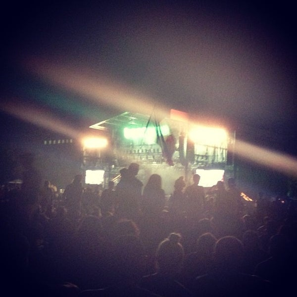 Photo taken at What Stage at Bonnaroo Music & Arts Festival by Sydney S. on 6/16/2013