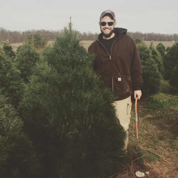 photo taken at moose apple christmas tree farm by casey h on 126 - Moose Apple Christmas Tree Farm