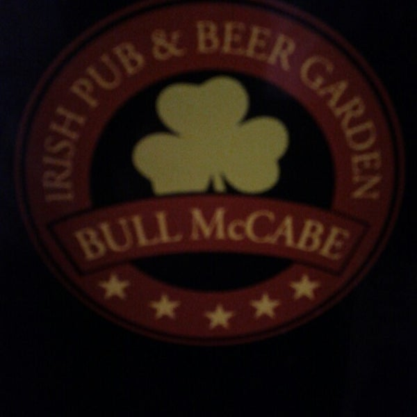 Photo taken at Bull McCabe by omar a. on 3/31/2013