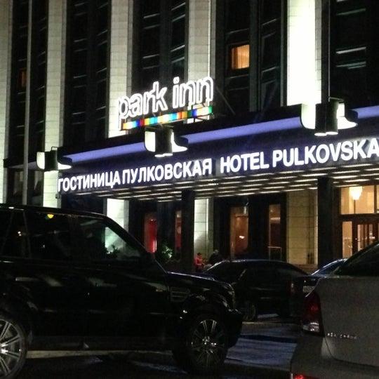 Снимок сделан в Park Inn by Radisson Pulkovskaya пользователем Антон Е. 10/15/2012