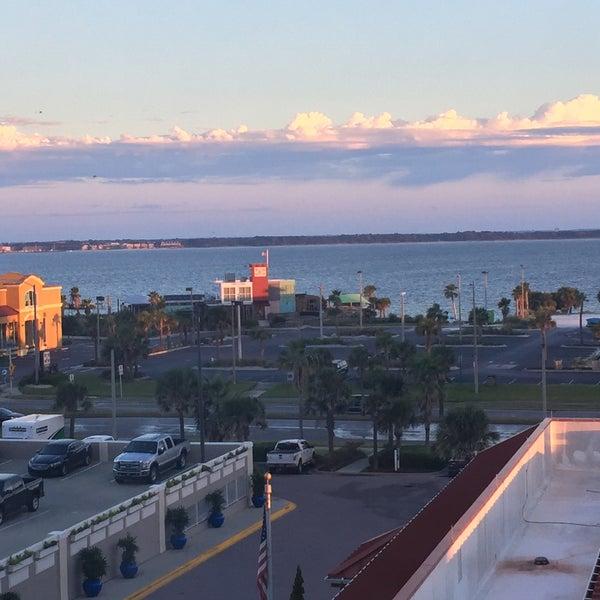 Photo taken at Hilton Pensacola Beach by Roberto F. on 10/3/2016
