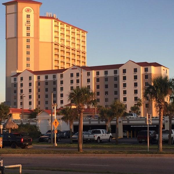 Photo taken at Hilton Pensacola Beach by Roberto F. on 10/6/2016