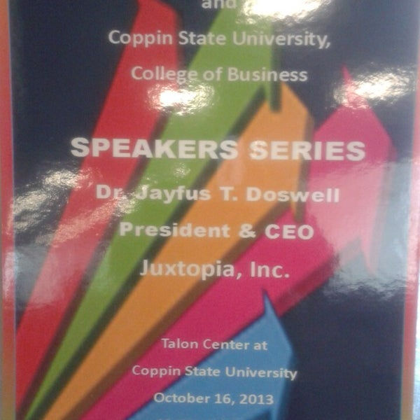 Photo taken at Coppin State University by Phinesse D. on 10/16/2013