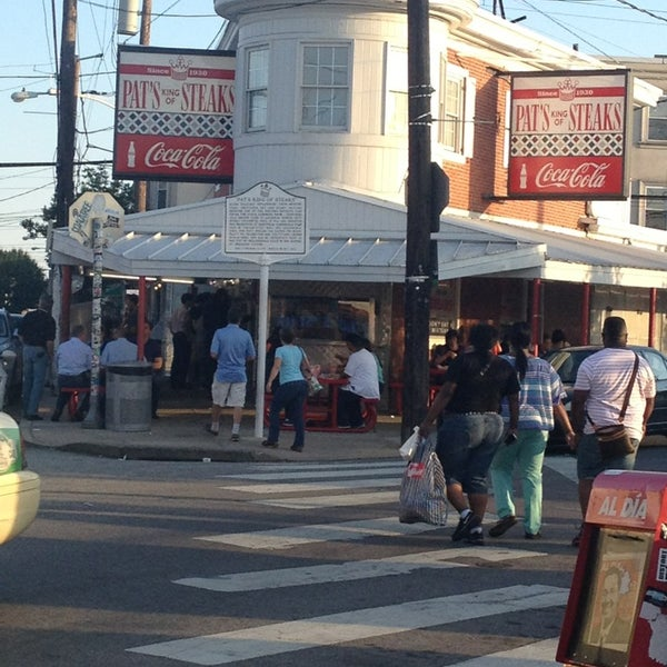 Photo taken at Pat's King of Steaks by Ana Lisa L. on 6/21/2013