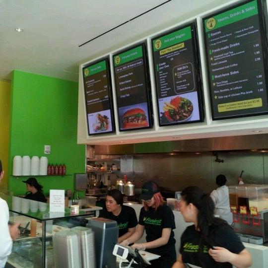 Photo taken at Freshroll Vietnamese Rolls & Bowls by Azat M. on 9/19/2012