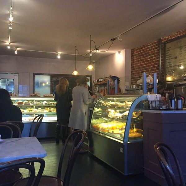 Photo taken at Almondine Bakery by Jenn on 11/1/2016