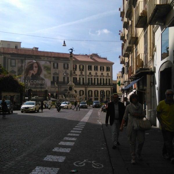 Photo taken at Piazza dei Martiri by @trozzula86 on 10/18/2014
