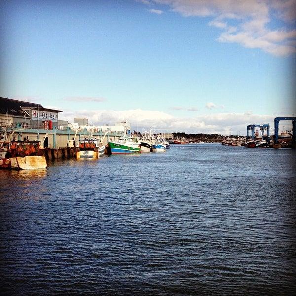 Photo taken at Port du Guilvinec by Hugo G. on 2/11/2013
