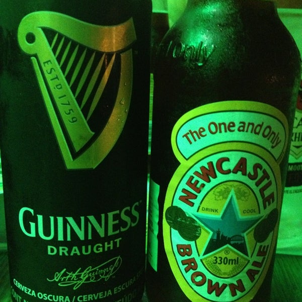 Photo taken at Dublin's Irish Pub by Caro I. on 4/1/2013