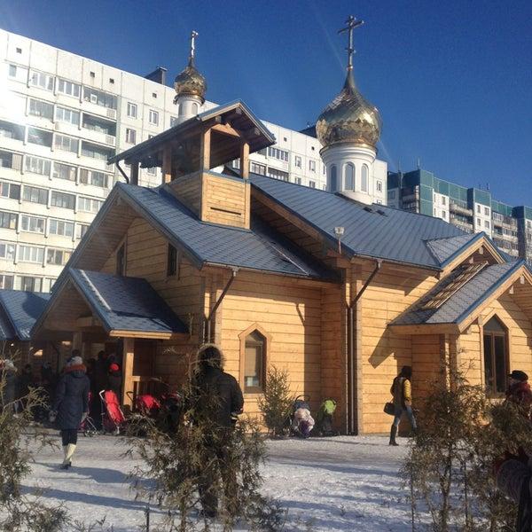 Photo taken at Храм святого Николая Чудотворца by Роман Б. on 3/24/2013