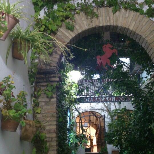 Photo taken at Restaurante El Caballo Rojo by Roxy on 7/2/2014