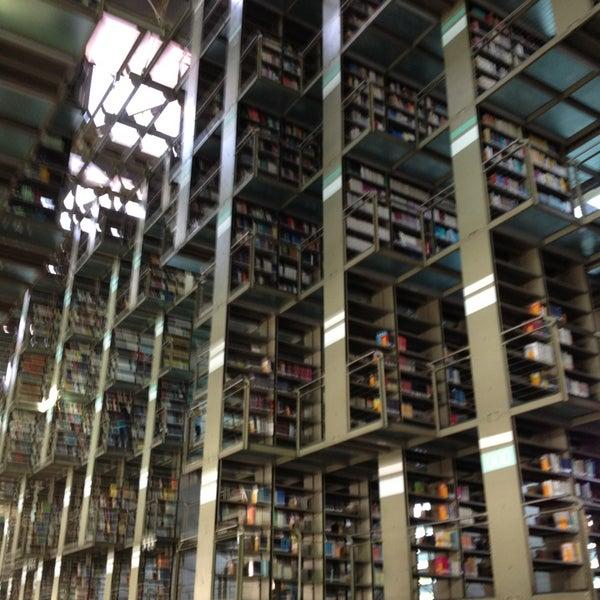 Photo taken at Biblioteca Vasconcelos by Davo P. on 2/13/2013