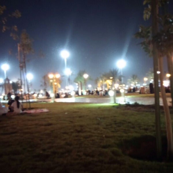 Photo taken at King Abdullah Park by Majed A. on 10/17/2013