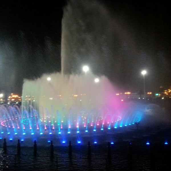 Photo taken at King Abdullah Park by Mohammad A. on 11/2/2013