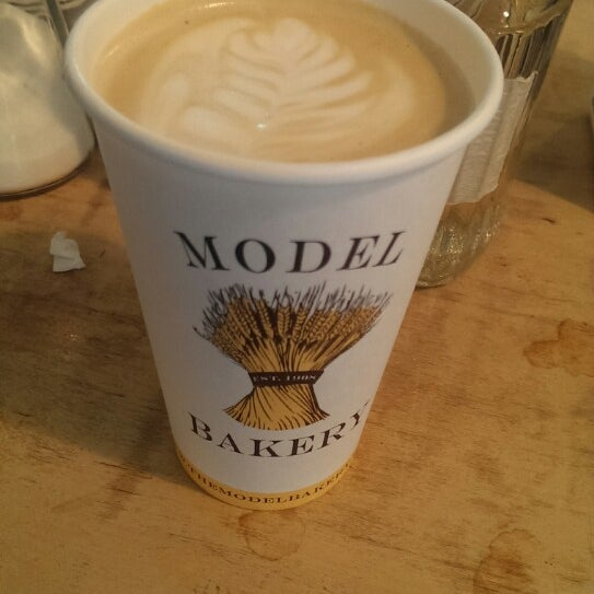 Photo taken at The Model Bakery by Alec M. on 8/1/2014