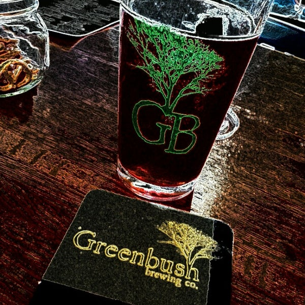 Photo taken at Greenbush Brewing Company by Sarah H. on 9/1/2013