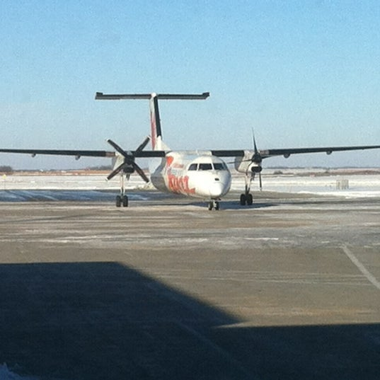 Photo taken at Saskatoon John G. Diefenbaker International Airport (YXE) by Alessandro M. on 11/15/2012