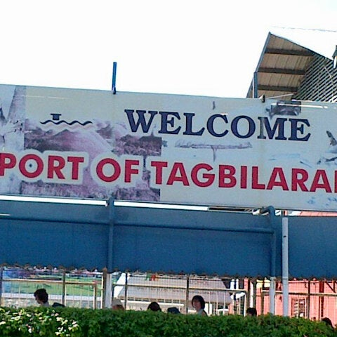 Photo taken at Tagbilaran City Bohol Port by Claire A. on 11/18/2012