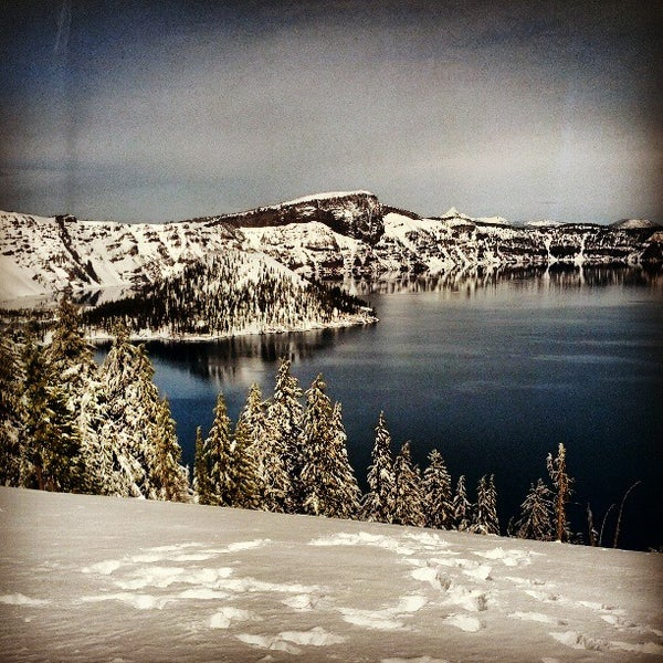 Photo taken at Crater Lake National Park by Gregory Trevor R. on 3/23/2013