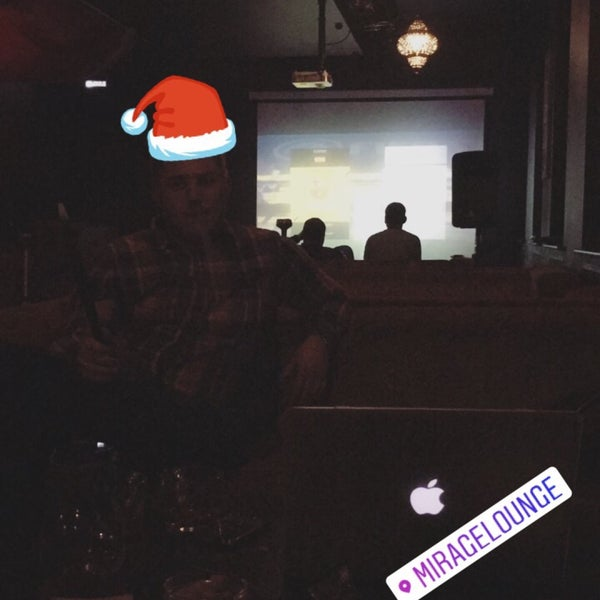 Снимок сделан в Bar Mirage пользователем Nikita R. 12/26/2016