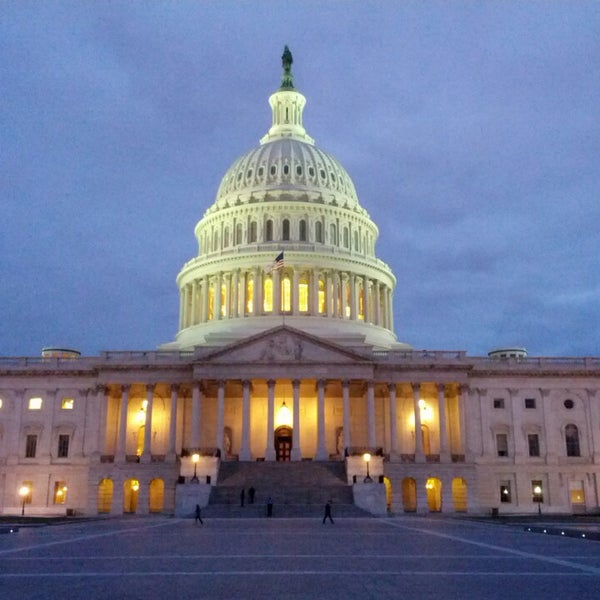 Photo taken at United States Capitol by Chris B. on 3/1/2013