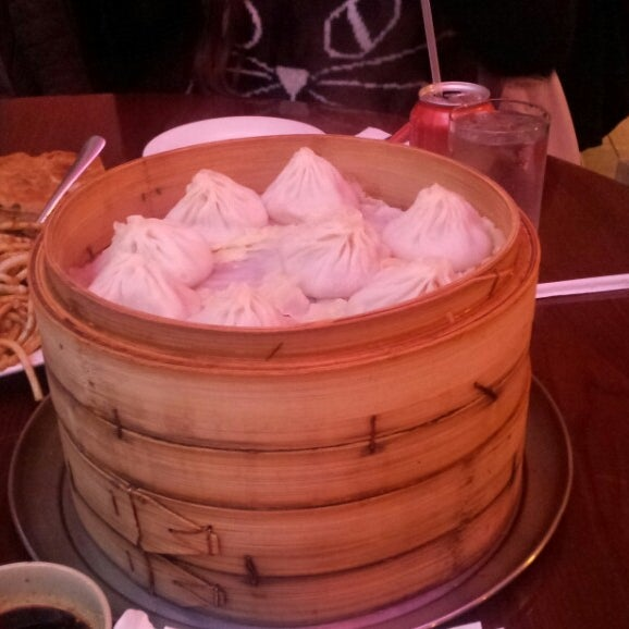 Photo taken at Shanghai Café Deluxe by Joann C. on 2/16/2013