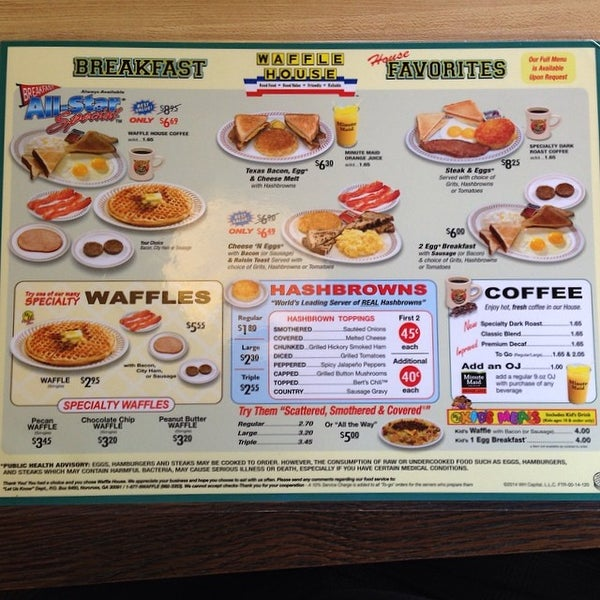 Photo taken at Waffle House by Noah Y. on 6/4/2014