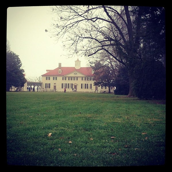 Photo taken at George Washington's Mount Vernon by Anna Grace P. on 12/8/2012
