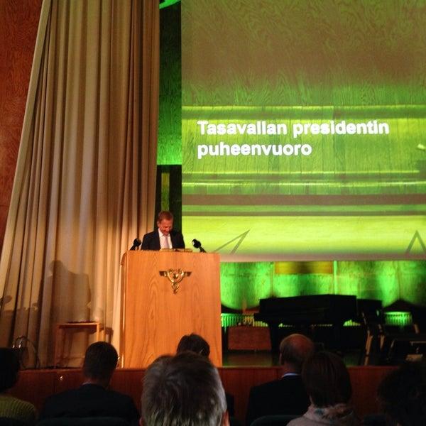 Photo taken at Kauppakorkeakoulu by Johanna F. on 8/22/2014