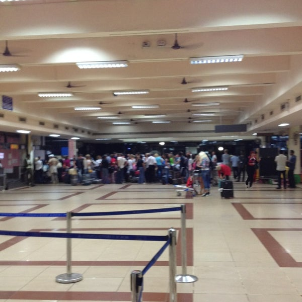 Photo taken at Goa International Airport / Dabolim Airport (GOI) by Nataly A. on 1/18/2013