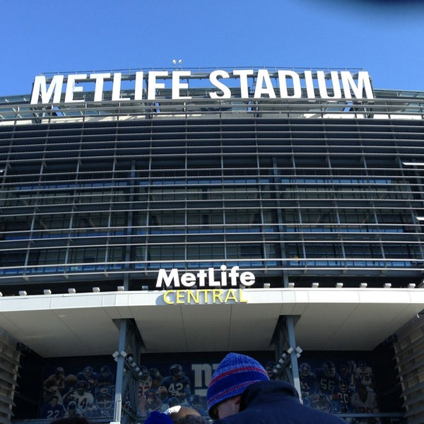 Photo taken at MetLife Stadium by Noah D. on 12/30/2012