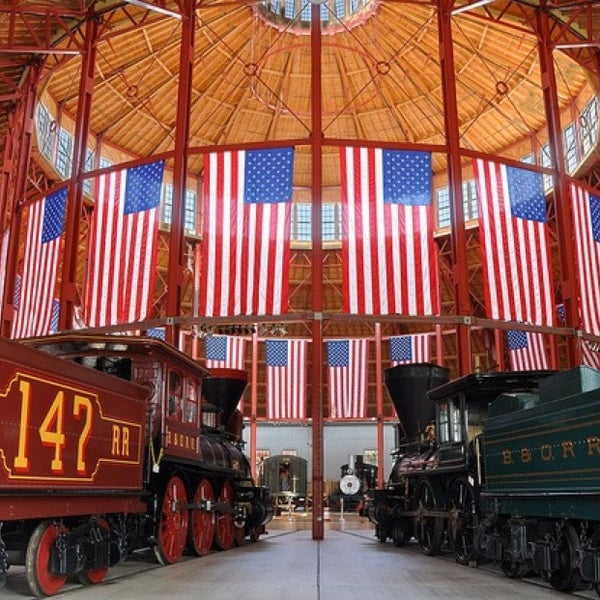 Photo taken at B & O Railroad Museum by Steven M. on 2/10/2013