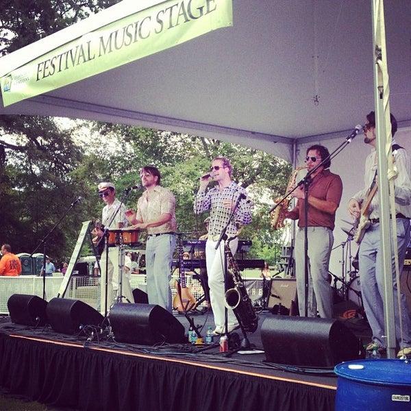 Photo taken at Atlanta Arts Festival by MixtapeAtlanta on 9/15/2012