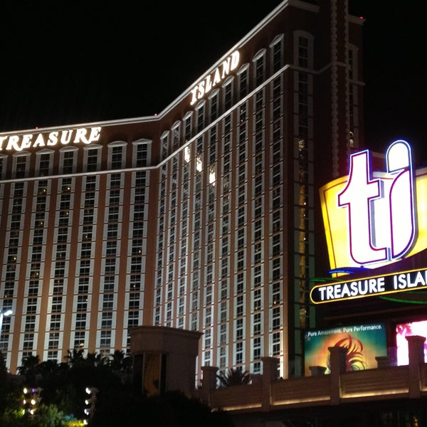 Photo taken at Treasure Island - TI Hotel & Casino by Rob J. on 4/20/2013