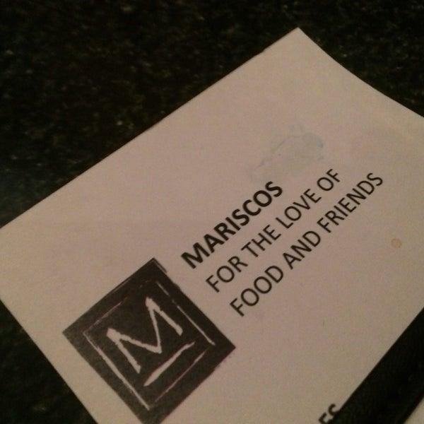 Photo taken at Mariscos Restaurant by Vance L. on 3/4/2014