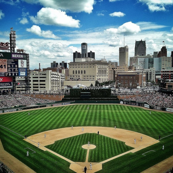 Photo taken at Comerica Park by Todd W. on 7/29/2013