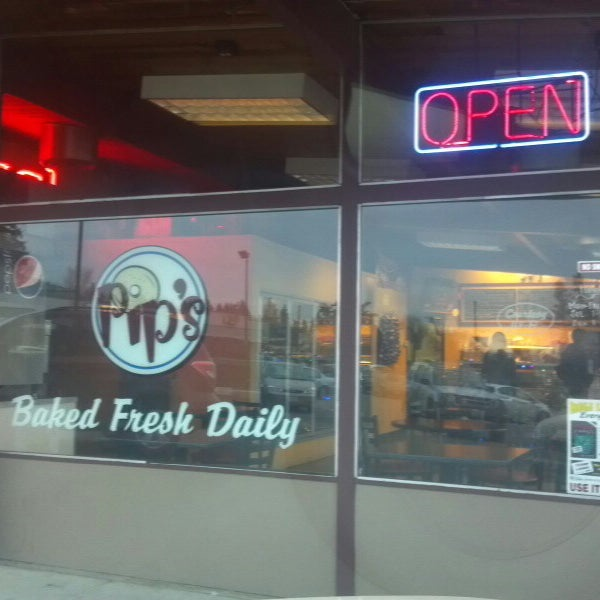 Photo taken at Pip's Bagels by Byron N. on 12/10/2013