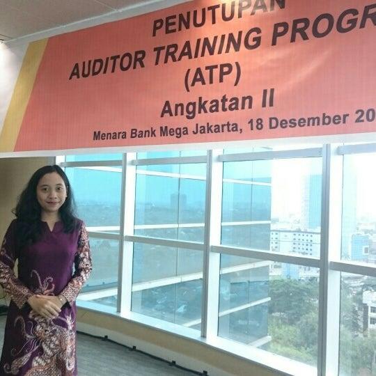 Photo taken at Menara Bank Mega by Fiqki A. on 12/18/2015