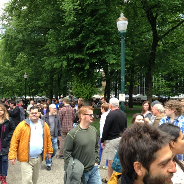 Photo taken at Portland Farmer's Market at PSU by James T. on 5/25/2013