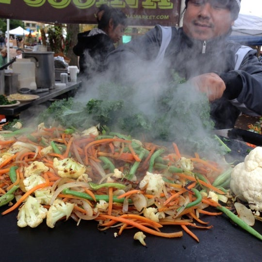 Photo taken at Portland Farmer's Market at PSU by James T. on 11/10/2012