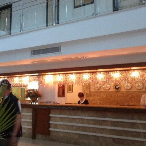 10/14/2012 tarihinde Alper B.ziyaretçi tarafından Sea Life Resort Hotel'de çekilen fotoğraf