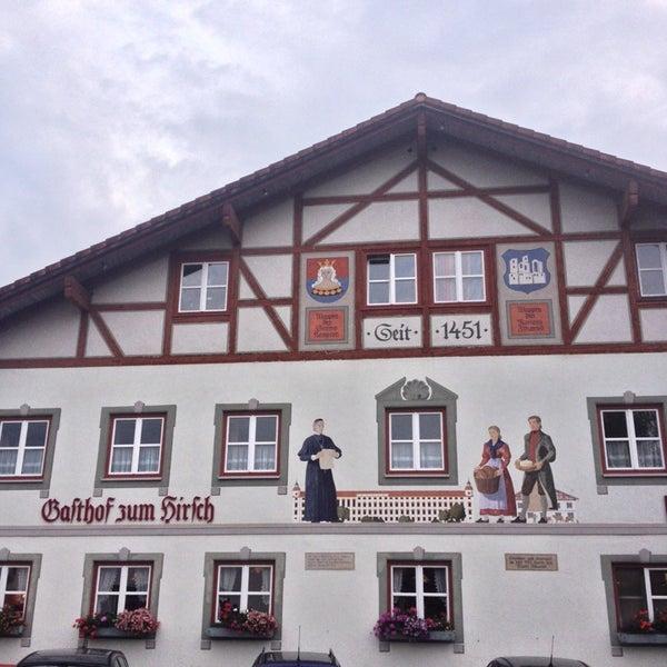Das Foto wurde bei Gasthof Zum Hirsch von Phil B. am 8/11/2014 aufgenommen
